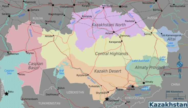 kazakhstan-provinces